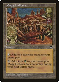 Mogg Hollows, Magic: The Gathering, Tempest