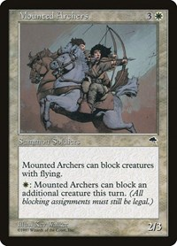 Mounted Archers, Magic: The Gathering, Tempest
