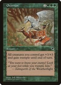 Overrun, Magic: The Gathering, Tempest