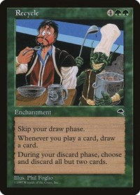 Recycle, Magic: The Gathering, Tempest