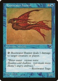 Rootwater Hunter, Magic: The Gathering, Tempest