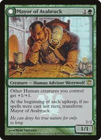 Mayor of Avabruck, Magic: The Gathering, Prerelease Cards