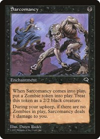 Sarcomancy, Magic: The Gathering, Tempest