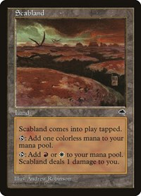 Scabland, Magic: The Gathering, Tempest
