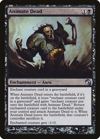 Animate Dead, Magic: The Gathering, Premium Deck Series: Graveborn