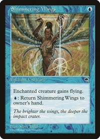 Shimmering Wings, Magic: The Gathering, Tempest