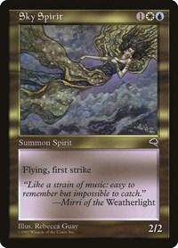 Sky Spirit, Magic, Tempest