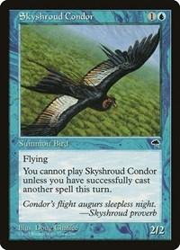 Skyshroud Condor, Magic: The Gathering, Tempest