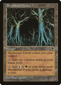 Skyshroud Forest, Magic: The Gathering, Tempest