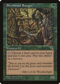 Skyshroud Forest //// Tempest //// MTG Magic the Gathering