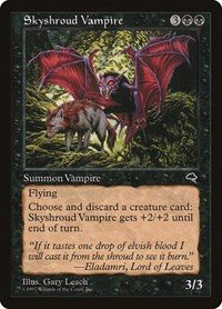 Skyshroud Vampire, Magic, Tempest