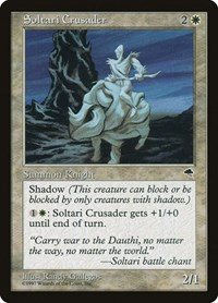 Soltari Crusader, Magic: The Gathering, Tempest