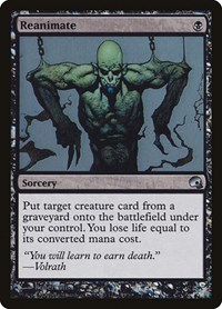 Reanimate, Magic: The Gathering, Premium Deck Series: Graveborn