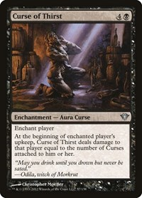 Curse of Thirst, Magic: The Gathering, Dark Ascension