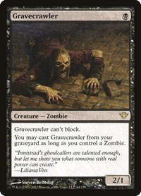 Gravecrawler, Magic: The Gathering, Dark Ascension
