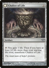 Chalice of Life, Magic: The Gathering, Dark Ascension