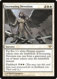 Increasing Devotion, Magic: The Gathering, Dark Ascension