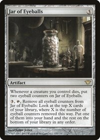 Jar of Eyeballs, Magic: The Gathering, Dark Ascension