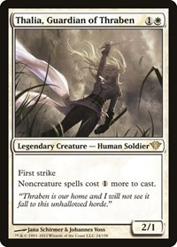 Thalia, Guardian of Thraben, Magic: The Gathering, Dark Ascension