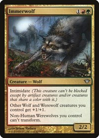 Immerwolf, Magic: The Gathering, Dark Ascension