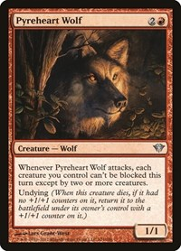 Pyreheart Wolf, Magic: The Gathering, Dark Ascension