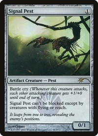 Signal Pest, Magic: The Gathering, WPN & Gateway Promos