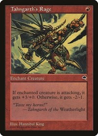 Tahngarth's Rage, Magic: The Gathering, Tempest