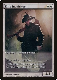 Elite Inquisitor, Magic: The Gathering, Game Day & Store Championship Promos