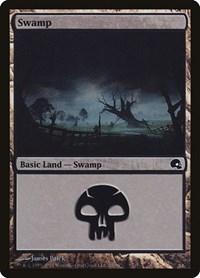 Swamp (28), Magic: The Gathering, Premium Deck Series: Graveborn