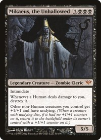 Mikaeus, the Unhallowed, Magic: The Gathering, Dark Ascension