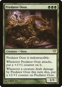 Predator Ooze, Magic, Dark Ascension