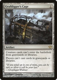 Grafdigger's Cage, Magic: The Gathering, Dark Ascension