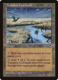 Thalakos Lowlands, Magic: The Gathering, Tempest