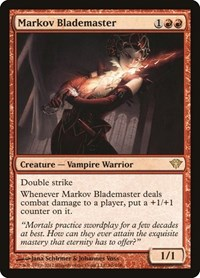 Markov Blademaster, Magic: The Gathering, Dark Ascension