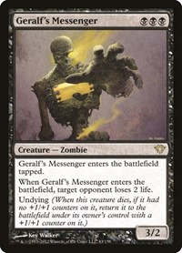 Geralf's Messenger, Magic: The Gathering, Dark Ascension