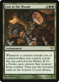 Lost in the Woods, Magic: The Gathering, Dark Ascension