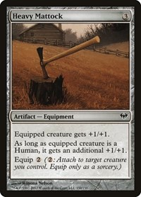 Heavy Mattock, Magic: The Gathering, Dark Ascension