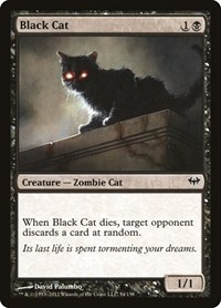 Black Cat, Magic: The Gathering, Dark Ascension