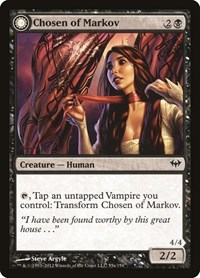 Chosen of Markov, Magic: The Gathering, Dark Ascension