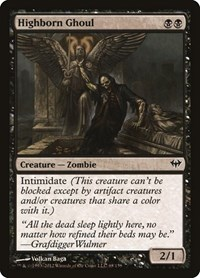 Highborn Ghoul, Magic: The Gathering, Dark Ascension