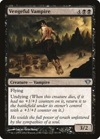 Vengeful Vampire, Magic: The Gathering, Dark Ascension