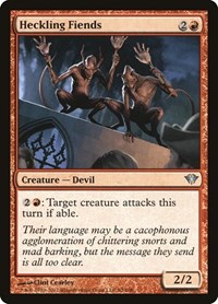 Heckling Fiends, Magic: The Gathering, Dark Ascension