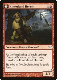 Hinterland Hermit, Magic: The Gathering, Dark Ascension