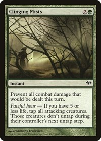Clinging Mists, Magic: The Gathering, Dark Ascension