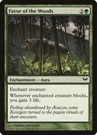 Favor of the Woods, Magic: The Gathering, Dark Ascension