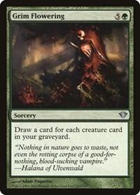 Grim Flowering, Magic: The Gathering, Dark Ascension