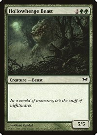 Hollowhenge Beast, Magic: The Gathering, Dark Ascension