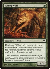 Young Wolf, Magic: The Gathering, Dark Ascension
