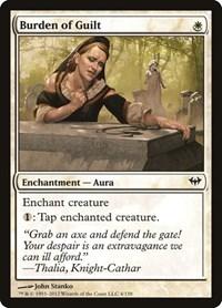 Burden of Guilt, Magic: The Gathering, Dark Ascension