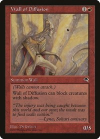 Wall of Diffusion, Magic: The Gathering, Tempest